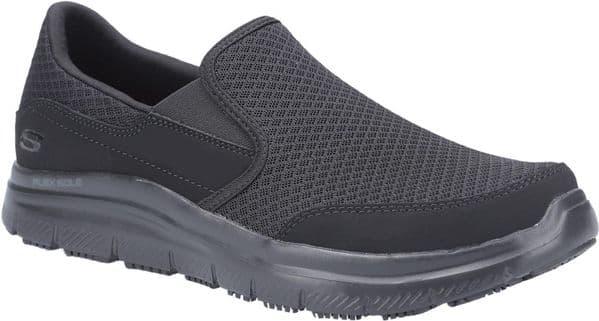 Skechers Flex Advantage - McAllen Sr Mens Occupational Footwear Black